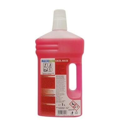 Почистващ и дезинфекциращ биоцид за санитарни помещения  EXCEL MAXX  - без хлор, 1 л