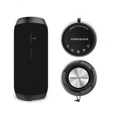 Безжична влагозащитена портативна Bluetooth тонколонка P7 Hopestar