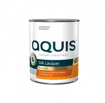 Копринен лак Aquis - Безцветен 2.5 л.