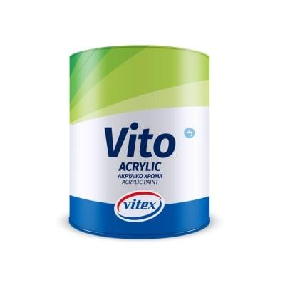 Акрилна боя ВИТО бяла Vitex