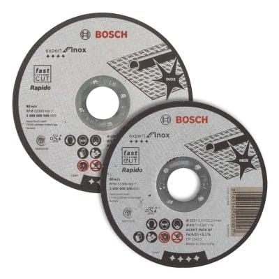 Диск за рязане Bosch EXPERT for Inox-Rapido FAST CUT
