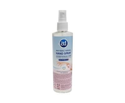 Антибактериален спрей за хигиенна дезинфекция на ръце А1 - 260 мл.