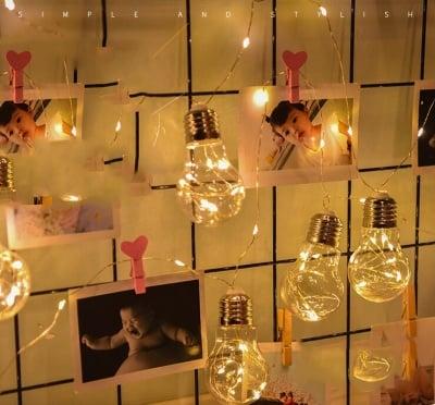 Коледни LED лампички Крушки за вътрешна употреба