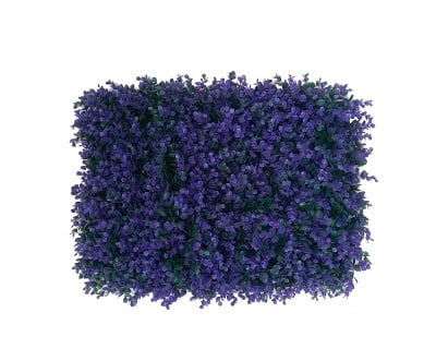 Пано изкуствени цветя Violet