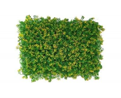 Пано изкуствена трева Yellow