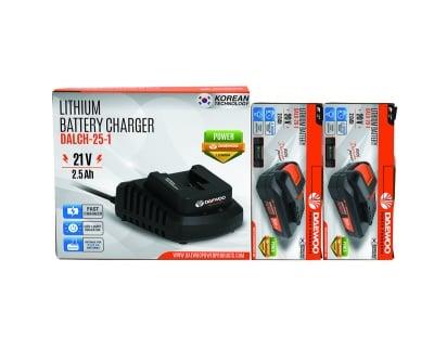 Комплект зарядна станция + 2 батерии UNI-BAT Daewoo