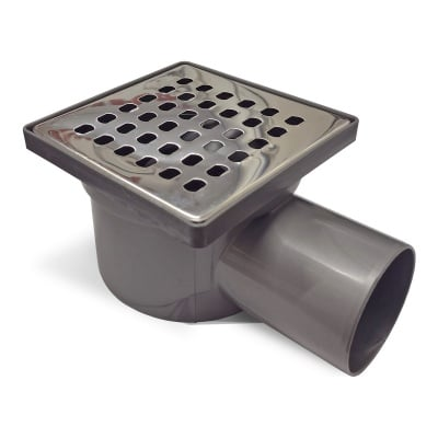 Сифон рогов 10 х 10 Ф50 хром МТ3000-50 Eco