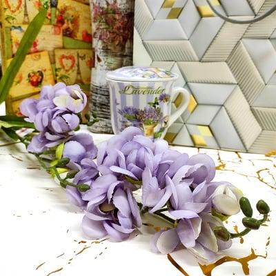 Изкуствено цвете  ОРХИДЕЯ 140 см