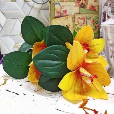 Изкуствено цвете  ОРХИДЕЯ 57 см