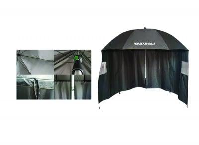 Рибарски чадър със странична тента Mistrall