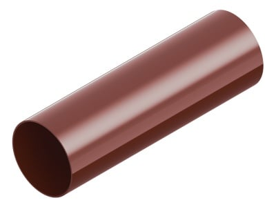 Тръба ⌀ 80 - 3 м LEXON - червена