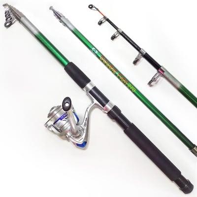 Комплект риболовен прът DOUBLE FISH 270 см и макара Yumoshi FF 2000