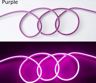 LED лента за външна  и вътрешна употреба 5 м - лилава светлина Lightex