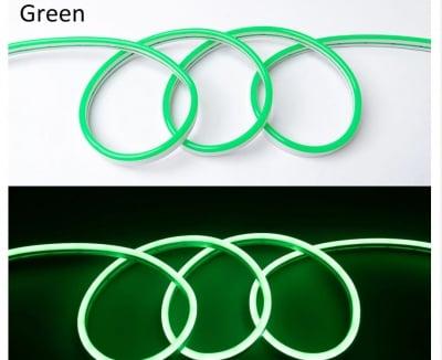 LED лента за външна  и вътрешна употреба 5 м - зелена  светлина Lightex