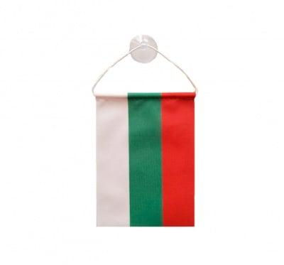 Знаме на България с връзка и вакуум