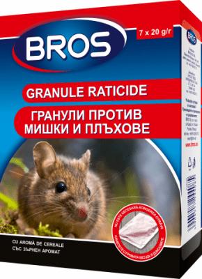 Отрова на гранули против мишки БРОС 140 гр.