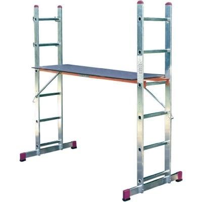Комбинирана стълба-скеле 2 х 6