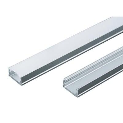 П-образен профил за LED лента,  2 м