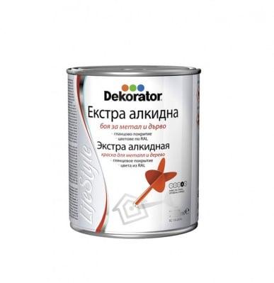 Екстра алкидна боя Dekorator Life Style -2.5 л.