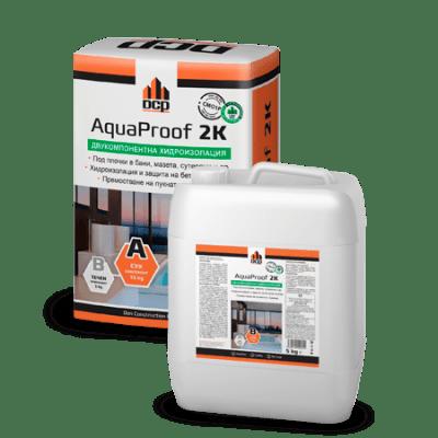 Двукомпонентна хидроизолация AquaProof 2K DCP