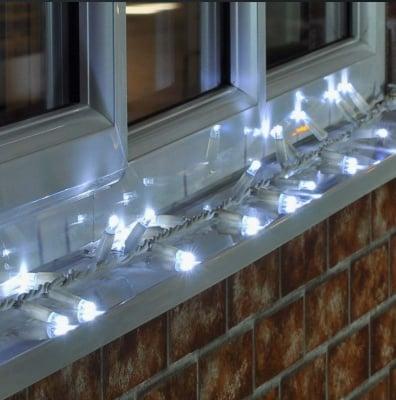 Коледни  LED лампички 120 бр. за външна употреба  - 10 м.