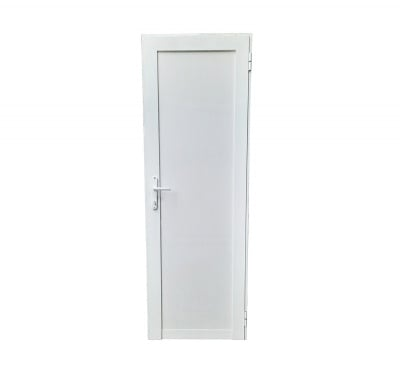 Алуминиева врата с пълнеж от термопанел 88 х 200 см. - дясна