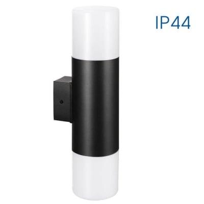 Влагозащитен фасаден аплик KYOTO/W 2 X E27 BK IP44