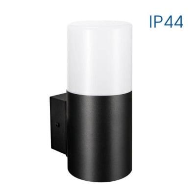 Влагозащитен фасаден аплик KYOTO/W 1 X E27 BK IP44