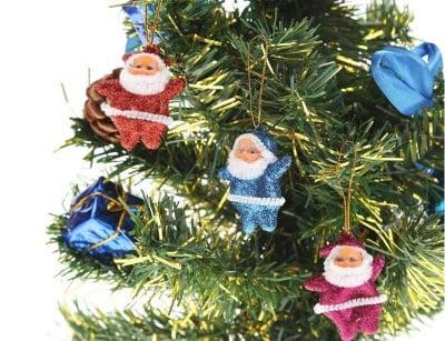 Комплект играчки за елха-Дядо Коледа