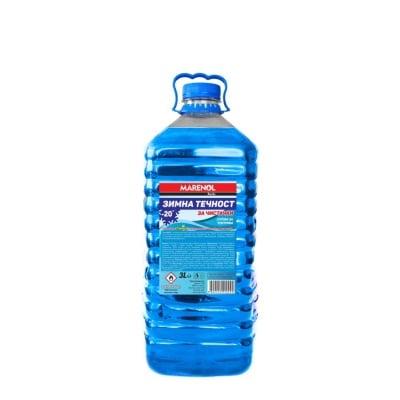 Зимна течност за чистачки MARENOL -20C,  3л