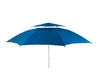 Плажен чадър  с двоен покрив ø 250 см