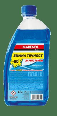 Зимна течност за чистачки MARENOL - 60 C,  3л