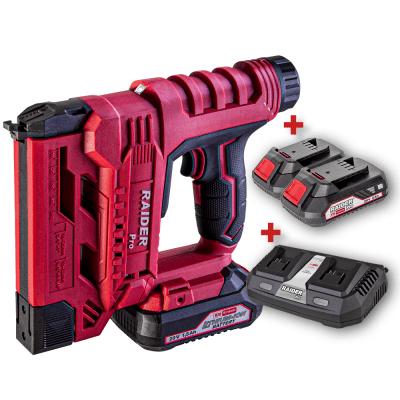 ПРОМО пакет RAIDER R20 SST20 - Акумулаторен комбиниран такер + Зарядно + Батерия 1x 2Ah