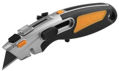 Макетен нож  2F PROFI с 2 резервни остриета TOLSEN