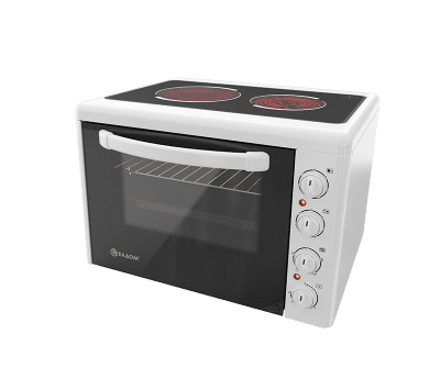 Готварска печка със стъклокерамичен плот ЕЛДОМ 201VFE