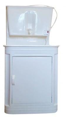 Умивалник с метален шкаф и терморегулатор за вила, двор и къмпинг Вилен