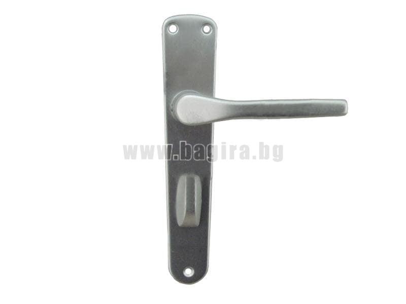 Дръжка за баня GABRI шилд 90 мм. сребро