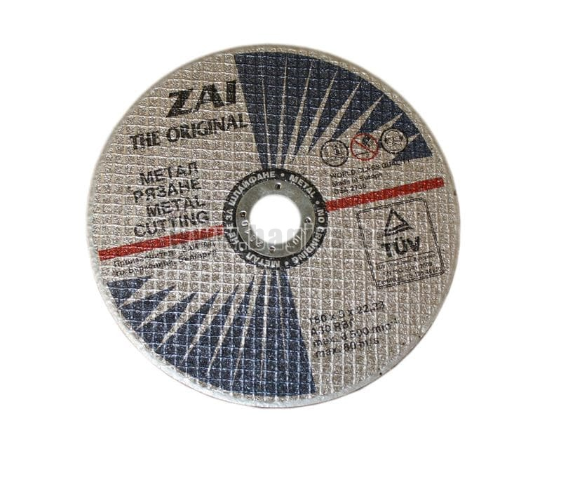 Диск за рязане на метал ф 180 - ZAI