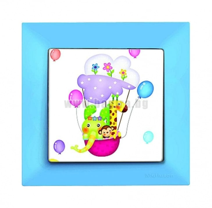 Детски ключ син /балони/ - Candela