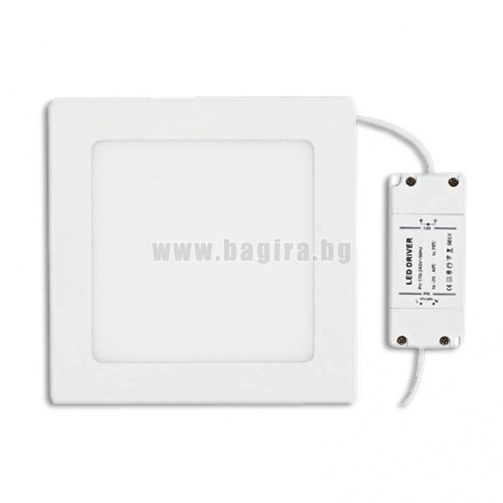 LED панел за вграждане  неутрална светлина - Ultralux