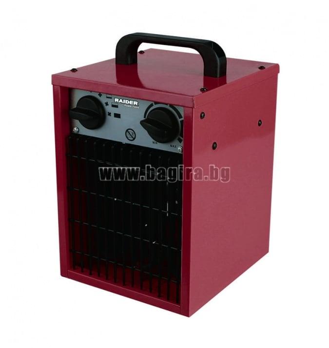 Калорифер електрически RD-EFH02 - Raider