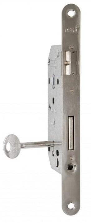 Интериорна брава - никел 50/90 Deka