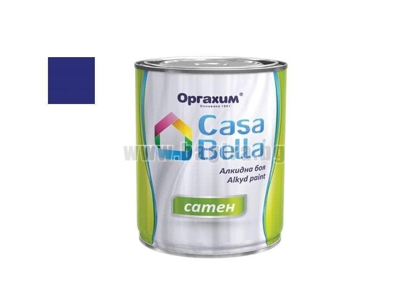 Алкидна боя Casa Bella сатен 0.650 л. Алкидна боя Casa Bella сатен 0.650 л. син
