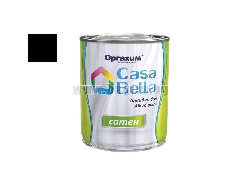 Алкидна боя Casa Bella сатен 0.650 л. Алкидна боя Casa Bella сатен 0.650 л. черен
