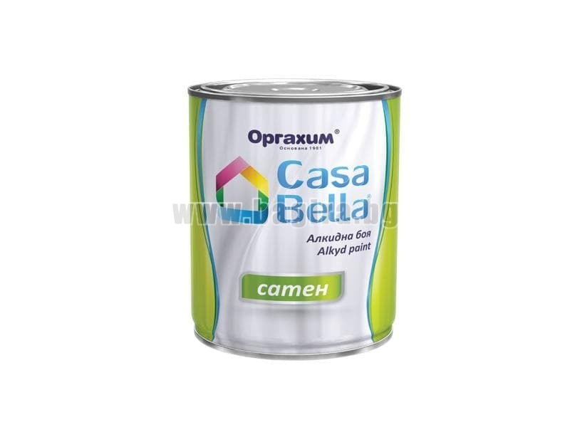 Алкидна боя Casa Bella сатен 0.650 л. бял