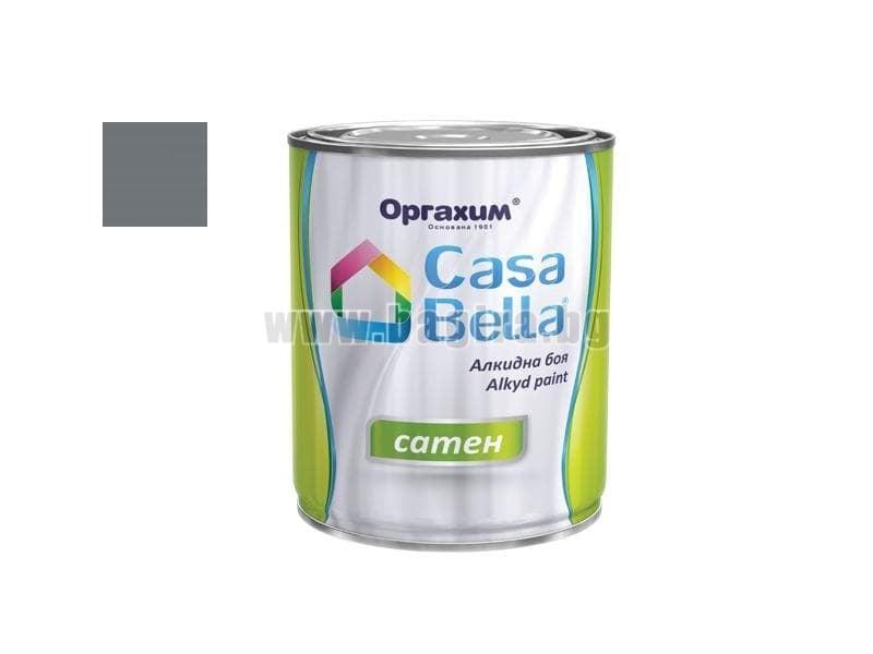 Алкидна боя Casa Bella сатен 0.650 л. Алкидна боя Casa Bella сатен 0.650 л. тъмно сива