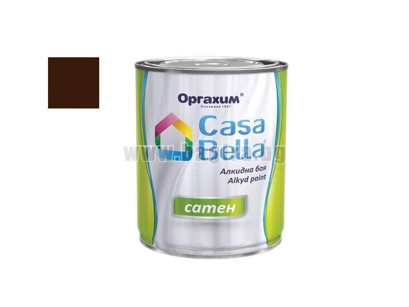 Алкидна боя Casa Bella сатен 0.650 л. Алкидна боя Casa Bella сатен 0.650 л. тъмно кафява