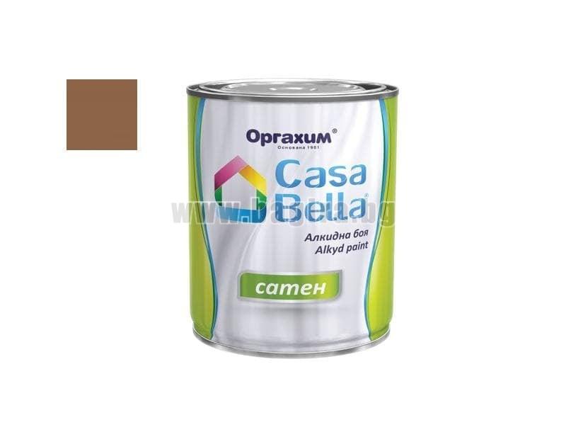 Алкидна боя Casa Bella сатен 0.650 л. Алкидна боя Casa Bella сатен 0.650 л. млечно кафява