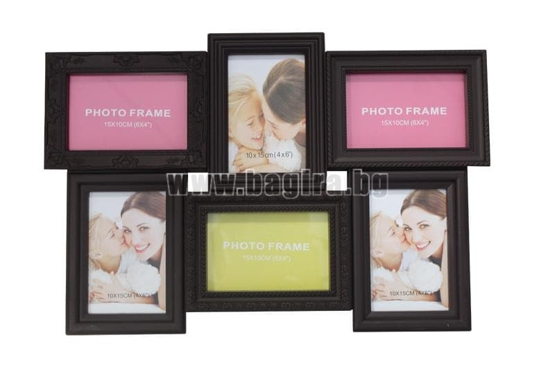 Рамка за снимки 5236-2 кафява