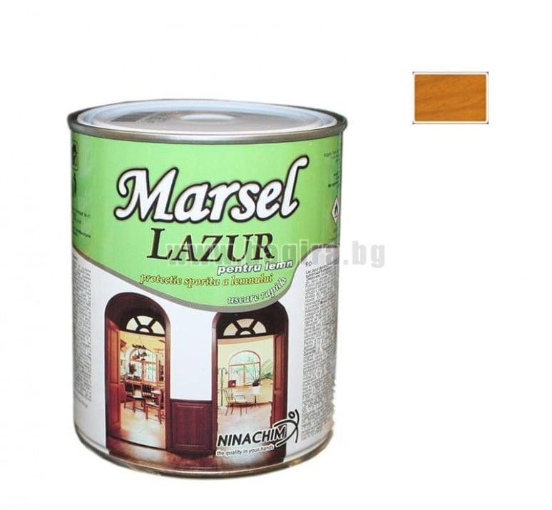 Лазурен лак Marsel  Лазурен лак Marsel - бор
